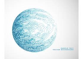 蓝色工艺丝网设计_2669096