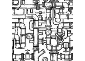 绘制管道系统无缝填充图案_3795129