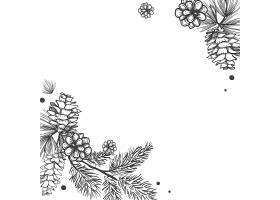空白鲜花邀请函_3601665