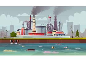 环境污染背景_3824591