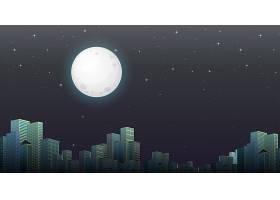 现代城市夜景_4088441