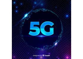 有线网络的5G概念背景_5367567