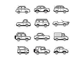 收集轿车和卡车插图_3904992