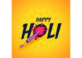 快乐的胡里节印度传统节日背景_6975315