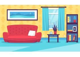 家居内部视频会议的背景_9746600