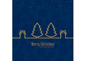 圣诞快乐庆祝活动背景_3435999