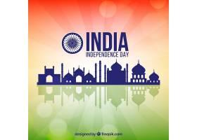 印度独立日背景与建筑_1211963