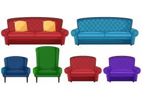 各种椅子的集合_1175533