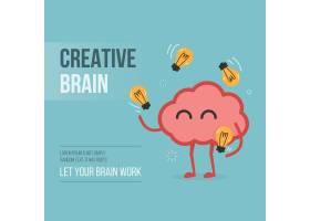 创意大脑背景设计_901250