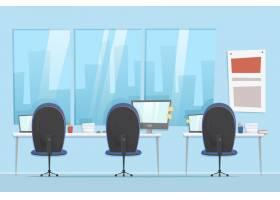 办公室视频会议背景_9250571