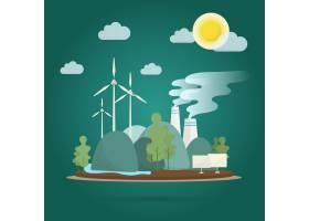全球变暖效应环境保护载体_3759825