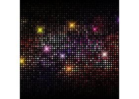 五颜六色的背景与派对灯光_949886