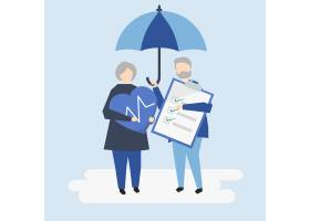 一对老年夫妇的性格特征与医疗保险插图_3200340