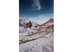 斯皮提冬日雪山美景_12651401