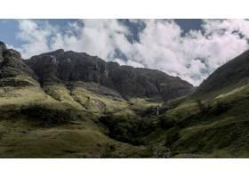 在多云天气下在苏格兰的格伦科山区拍摄了_9283120