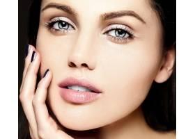 迷人的特写美人肖像美丽性感的高加索年轻女_7200491