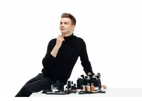 专业化妆师与世隔绝的白色_10834680
