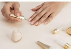 健康美丽的指甲和指甲油_11296782