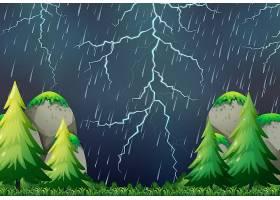 雷雨般的自然风光_4092857