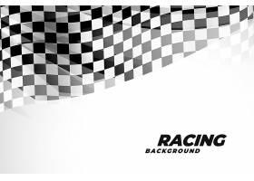 运动和赛车的方格镶边背景_6918282