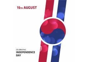 韩国独立日背景设计_907205