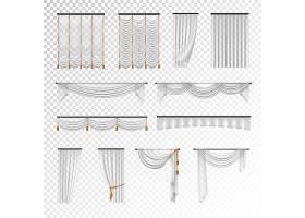 透明豪华窗帘和窗帘室内装饰设计理念_4015429