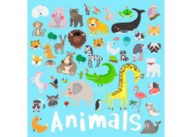 野生动物插图绘画样式集_2685808