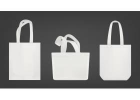 白色手提袋购物环保袋_6822940