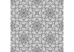 无缝图案复古装饰元素_9341302