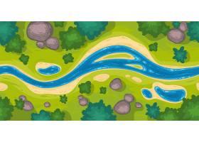 无缝边界可俯瞰河景_8792440