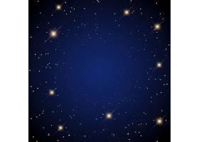 星光灿烂的背景和闪耀的星星_6015387