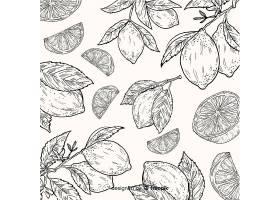 手绘天然食品背景_5211694