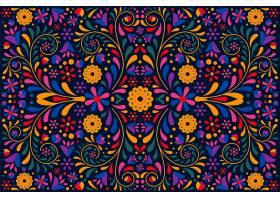 平面设计五颜六色的墨西哥背景_6937912