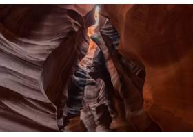 美国羚羊峡谷中质地华丽的洞穴内的美丽照片_8281291
