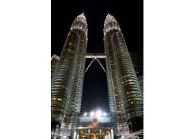 灯光KLCC吉隆坡大楼马来西亚_1006720
