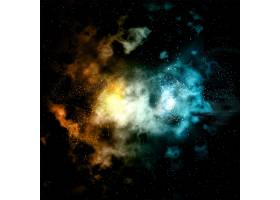 彩色星云背景_879846