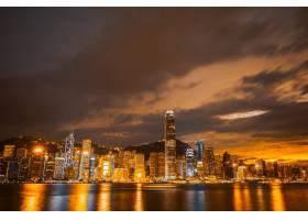 美丽的建筑构筑香港城市风貌_3707133