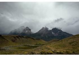智利托雷斯德尔潘国家公园风景的美丽镜头_13006943