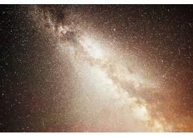 充满活力的夜空有星星星云和星系_10181184