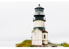 历史海角令人失望的灯塔的美丽低角拍摄_7678618