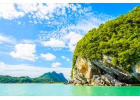 海岛泻湖泰国披泰世外桃源_1042811