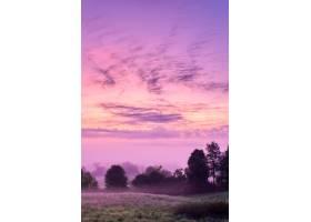 宾夕法尼亚州西北部乡村的日出美景_8507383