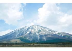 富士山以云为背景形成_1015129
