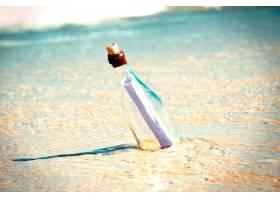 海滩上瓶子里的信息_960109