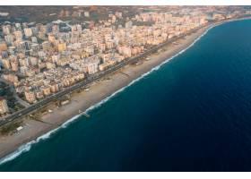 土耳其海岸线城市鸟瞰_9201703