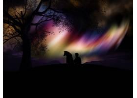 彩色星云景观_879698
