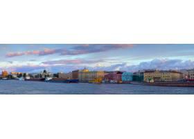 圣彼得堡的景色早上的彼得堡_1329200