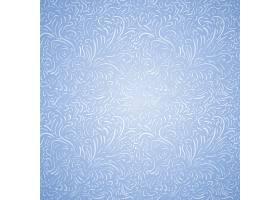 蓝色向量相当无缝的霜冻装饰背景_11060739