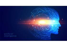 未来人工智能人脸技术背景_4402943