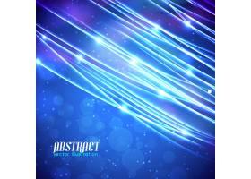 浅蓝色抽象在模糊的背景上闪耀着闪闪发光_10464210